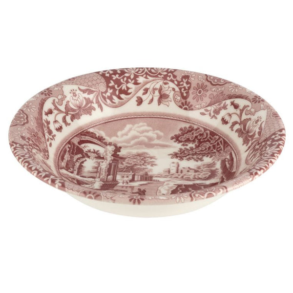 Spode Cranberry Italian Cereal Bowl 8 Inch