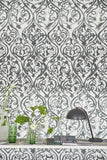 Wallpaper Arabesque Graphite