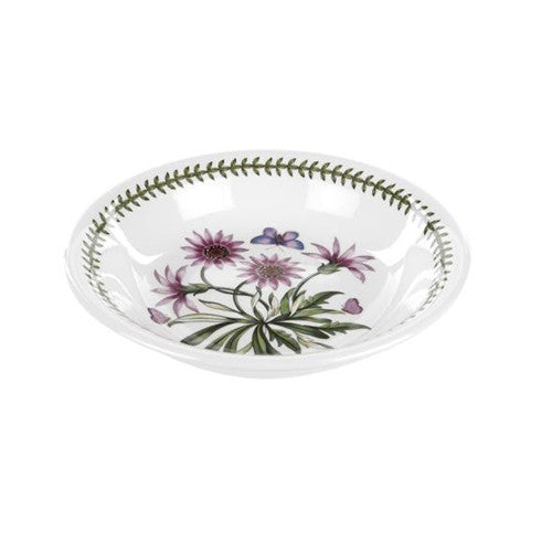 Portmeirion Botanic Garden Low Pasta Bowl Treasure Flower