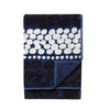 Marimekko Jurmo bath towel in Dark Blue
