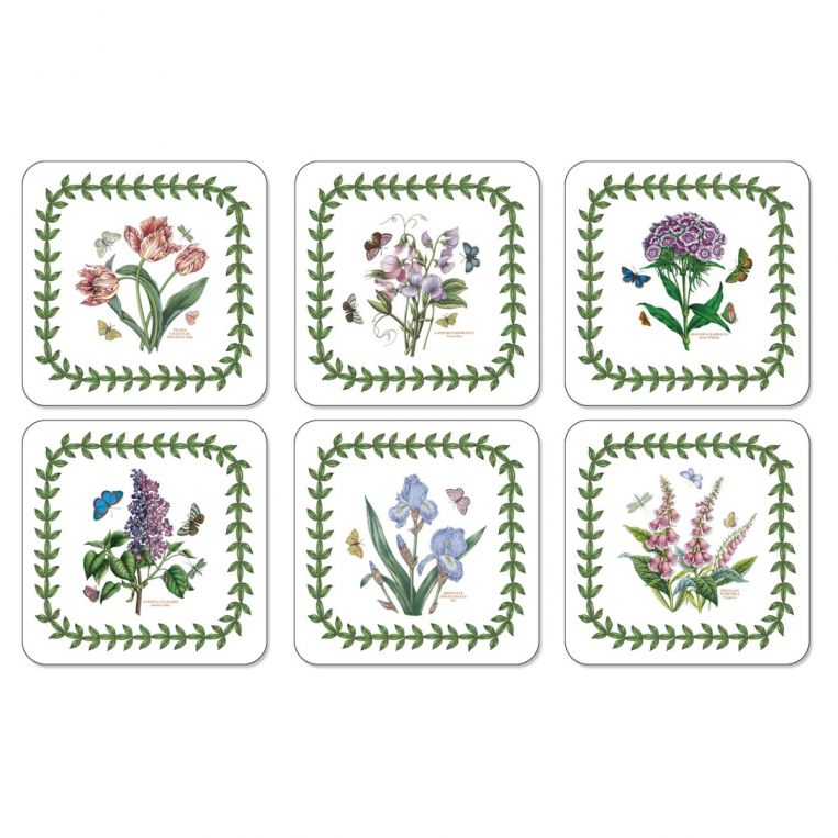 Pimpernel Portmeirion Botanic Garden Coasters Set of 6