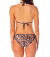 Bali Tan Through Bikini Top & Brief Set
