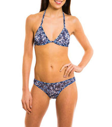 Oceana Tan Through Bikini Top & Brief Set