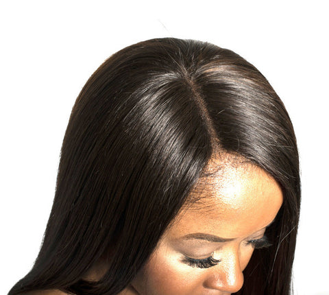 Middle-Part Lace Closure