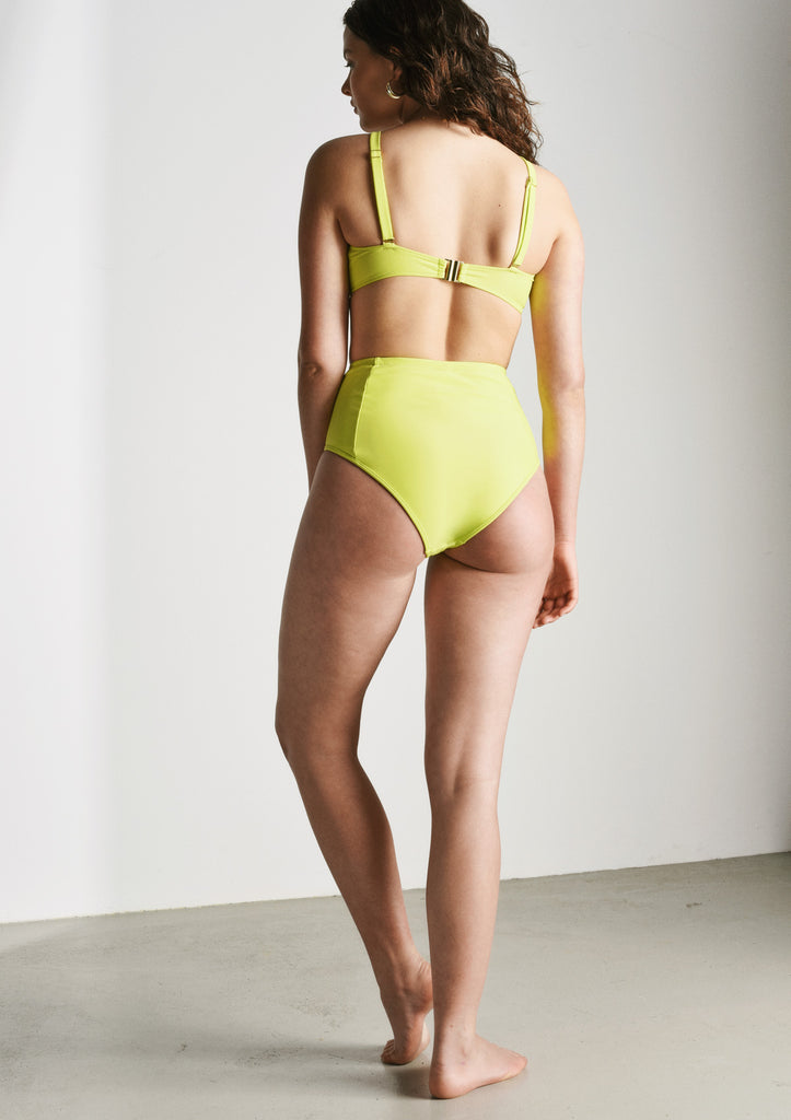 Kit Bikini Top in Lime