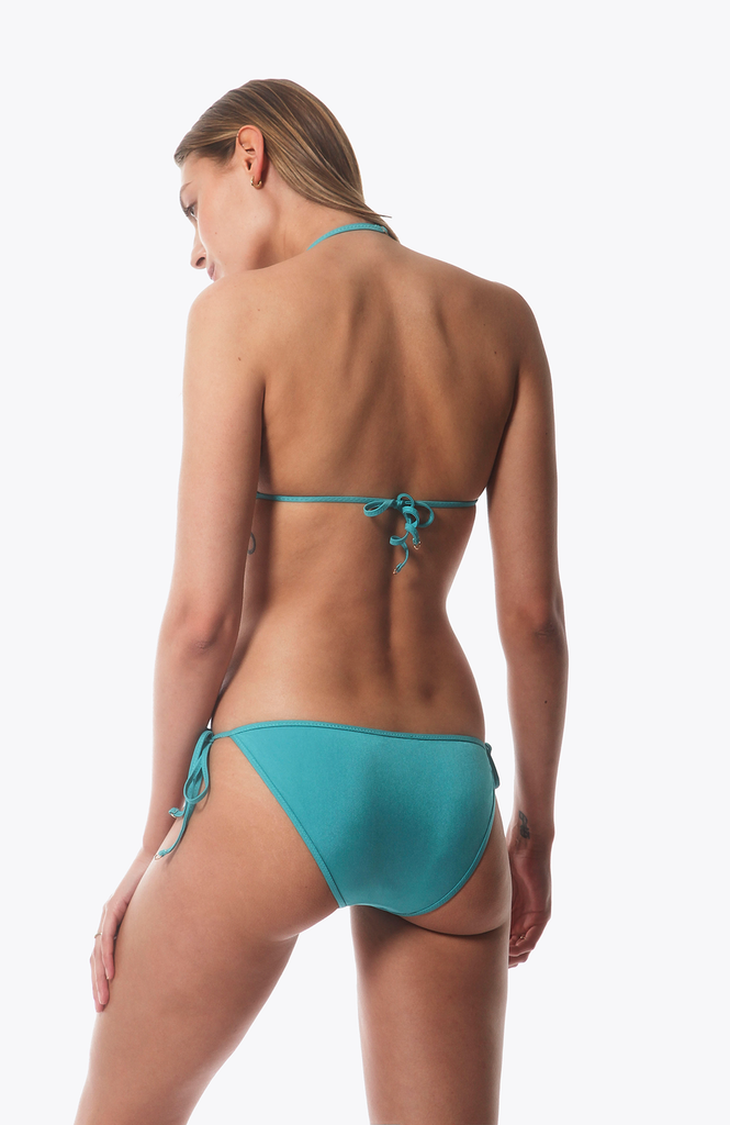 Bang Bikini Bottom in Turquoise