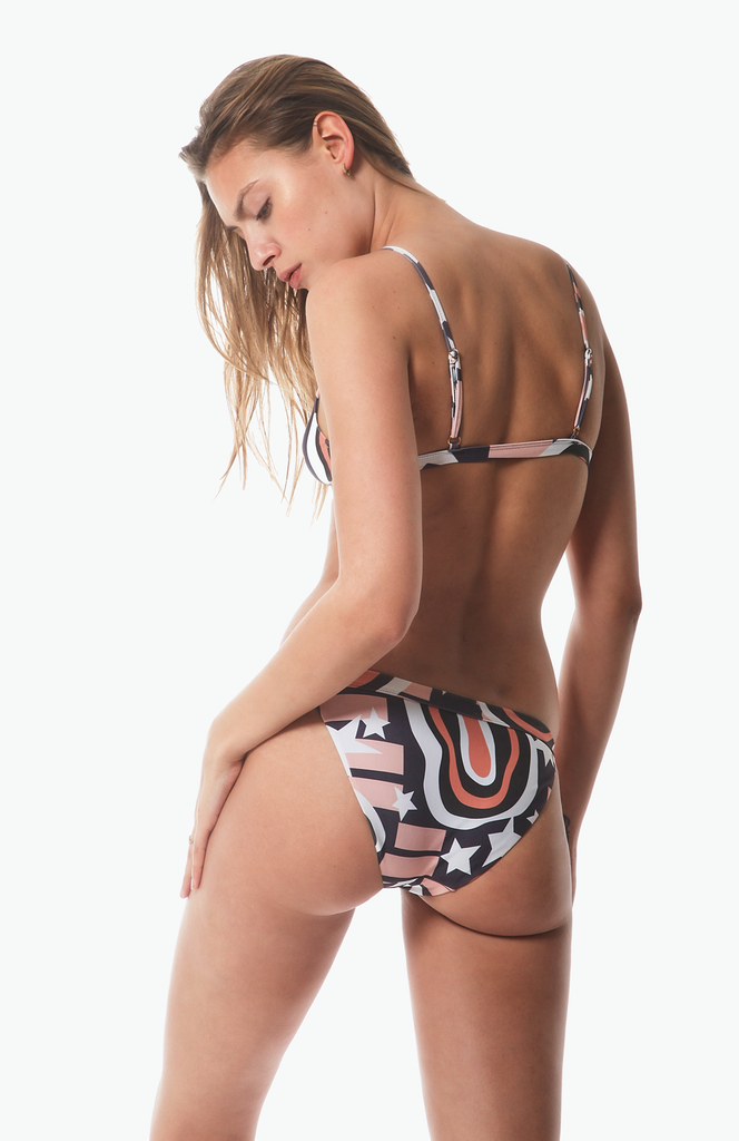 Tangiers Tanga Bottom in Eloi Print