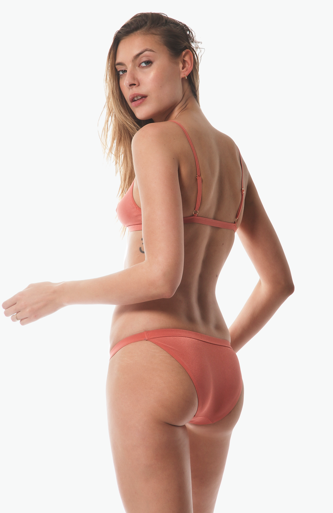 Tangiers Tanga Bottom in Rose