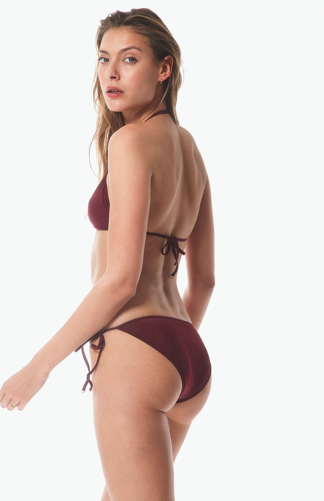 Bang Bikini Bottom in Grape