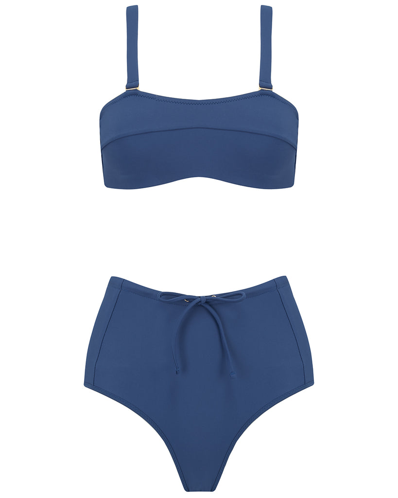 Kit Bikini Top in Pacific Final Sale