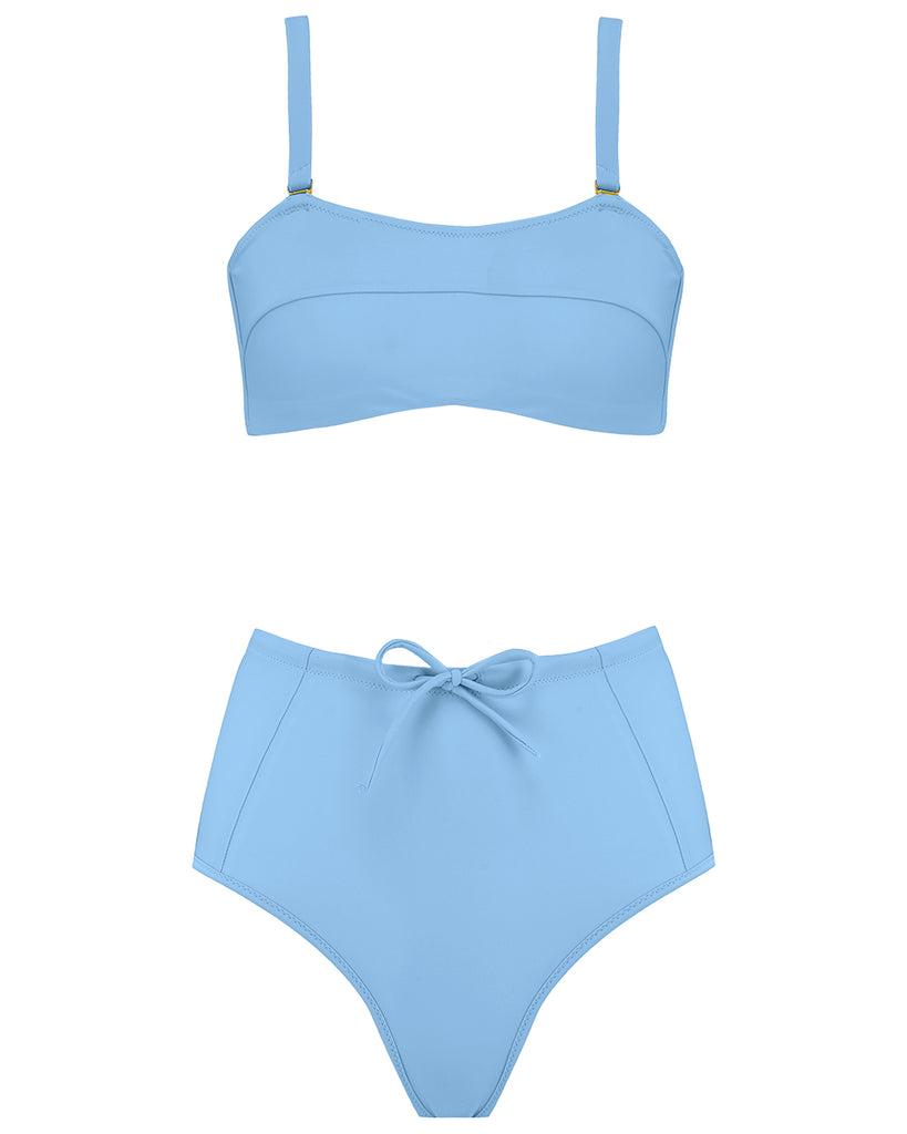 Kit Bikini Bottom in Sky