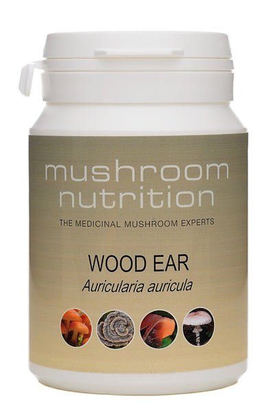Wood Ear (hot-water extract) - 60 vcaps
