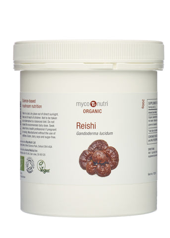 Organic MycoNutri Red Reishi dual-extract - 200g
