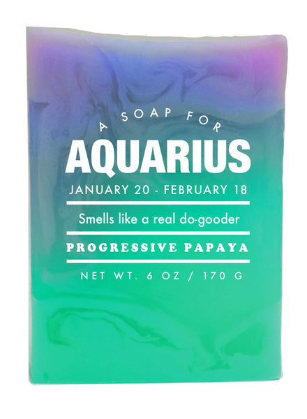 Astrology Soap Aquarius - NEW