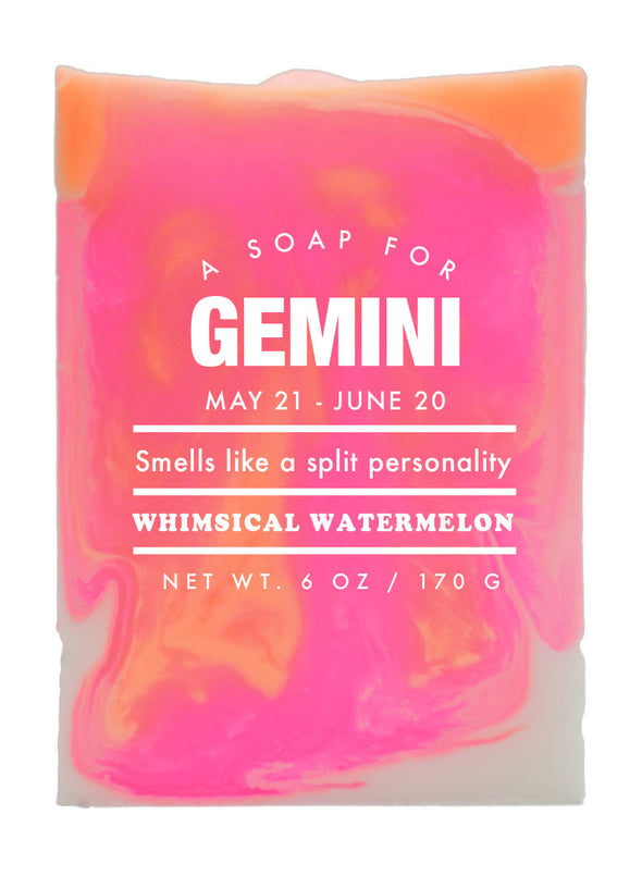 Astrology Soap Gemini