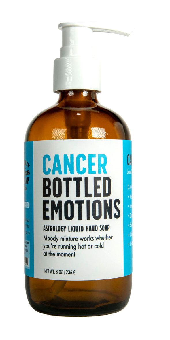 Cancer Bottled Emotions Liquid Hand Soap