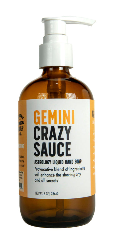 Gemini Crazy Sauce Liquid Hand Soap