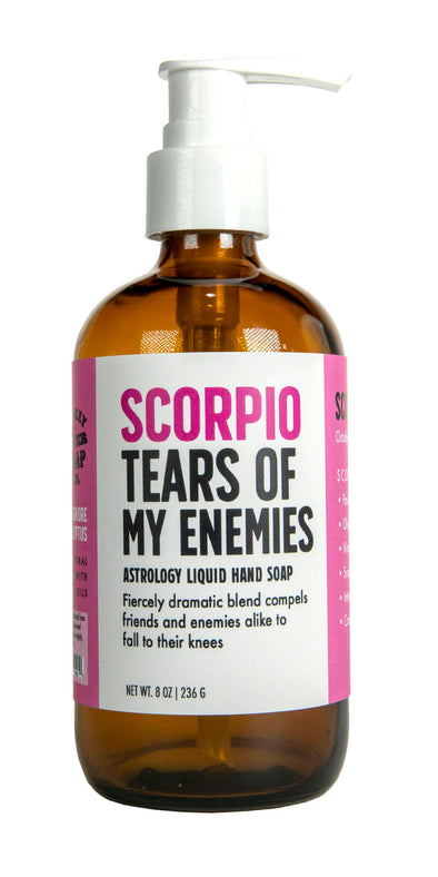 Scorpio Tears of My Enemies Liquid Hand Soap