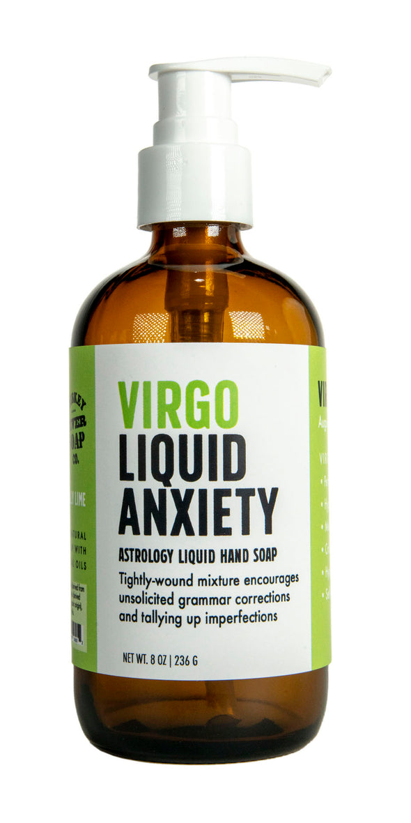 Virgo Liquid Anxiety Liquid Hand Soap