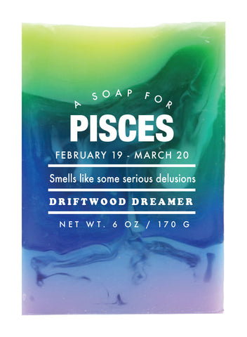 Astrology Soap Pisces - NEW