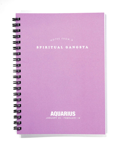 Astrology Journal Aquarius