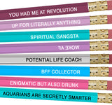 Astrology Pencils Aquarius - NEW