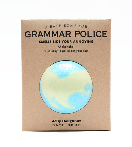 A Bathbomb for Grammar Police - NEW!