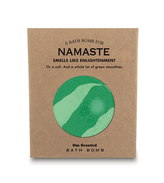 A Bathbomb for Namaste