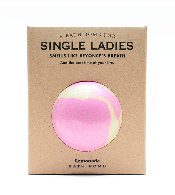 A Bath Bomb for Single Ladies
