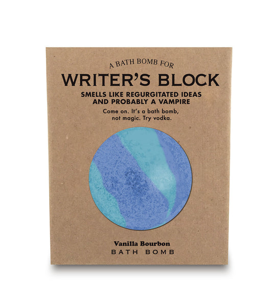 A Bathbomb for Writer's Block