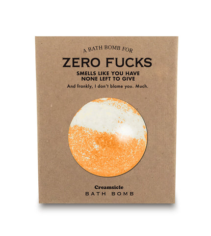 A Bathbomb for Zero Fucks