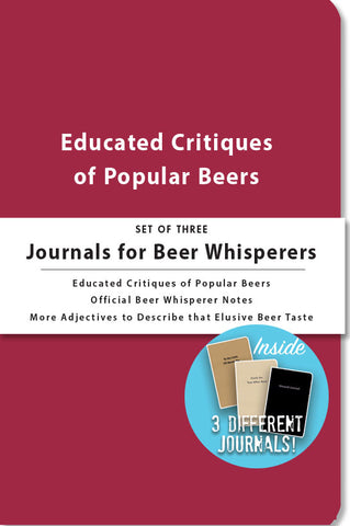 Journals for Beer Whisperers