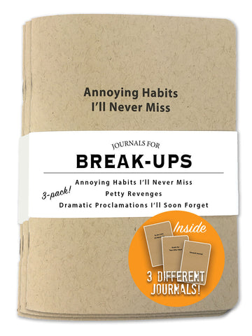 Journals for Break-Ups