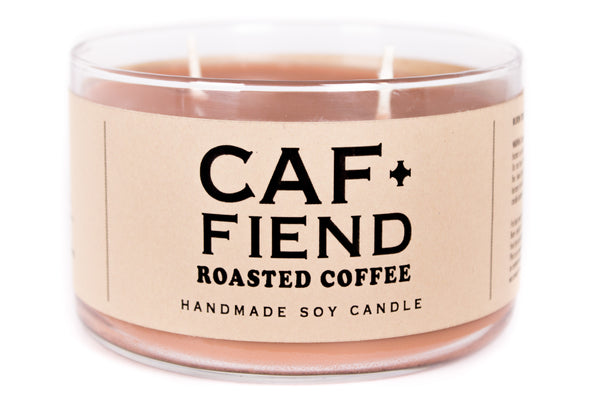 Caf+Fiend Candle