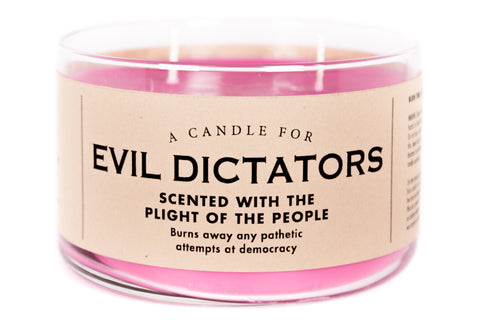 A Candle for Evil Dictators