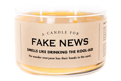 A Candle for Fake News - NEW