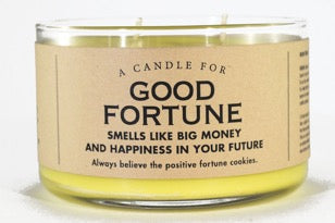 Candle for Good Fortune