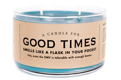 A Candle for Good Times