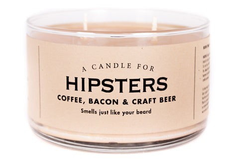 A Candle for Hipsters - BEST SELLER!