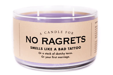 A Candle for No Ragrets