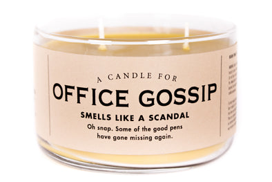 A Candle for Office Gossip