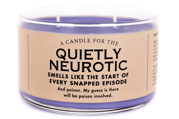 A Candle for the Quietly Neurotic