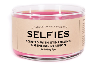 A Candle to Help Prevent Selfies
