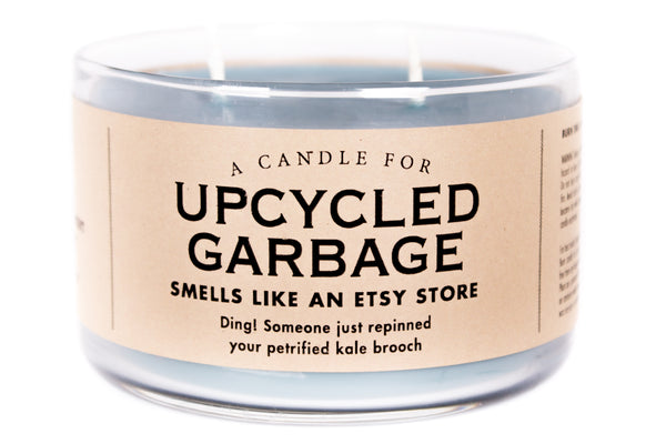 A Candle for Upcycled Garbage