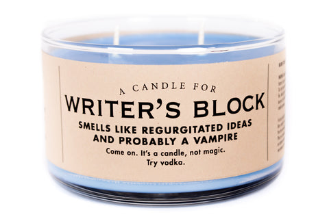 A Candle for Writer's Block - BEST SELLER!