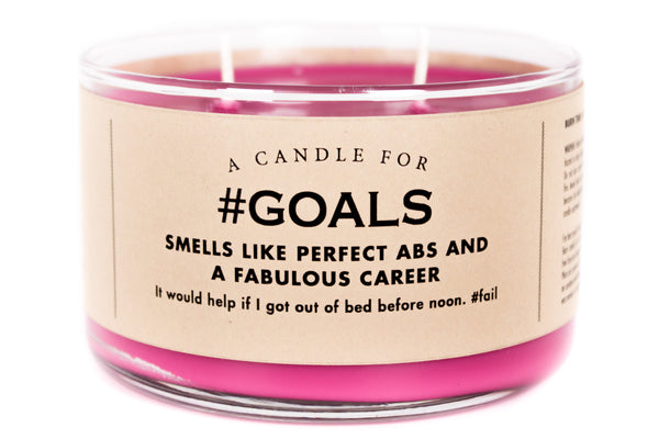 A Candle for #Goals