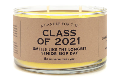 Limited Time! A Candle for the Class of 2021