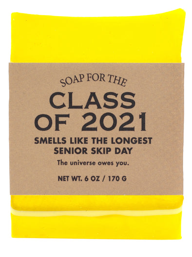 Limited Time! Soap for the Class of 2021