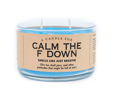 A Candle for Calm the F Down - NEW!