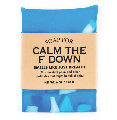 Soap for Calm the F Down - NEW!